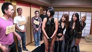 Hottest Japanese chick Kyoko Maki in Amazing JAV censored Cumshots, Party scene