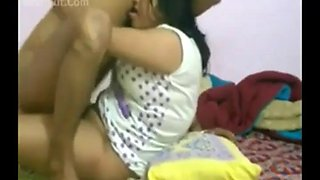 Busty kanpur aunty fucks hard with lover