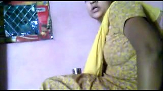 Trying to seduce my busty indian cousin Savita