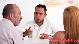 Busty Big Ass Latina Pecosa Asks a Doctor to Check Her Holes Properly