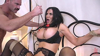 British Babe Taught a Lesson by Charles Dera