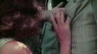 Classic porno with hot outdoor sex