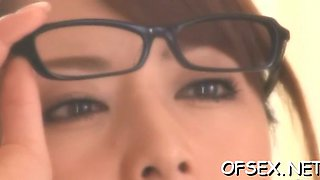 steaming hot office fuck asian