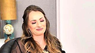 Naughty America - Big tits boss Natasha Starr fucks employee