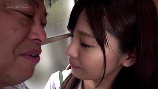 Fhd 久留木玲 - (くるき)おじさんと体液交換 接吻、舐めあい、唾飲みせっくす [sdab-107]