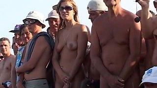 Incredible Homemade video with Voyeur, Beach scenes