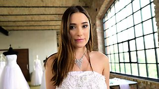 Virgin bride Liya Silver succumbs to your charms