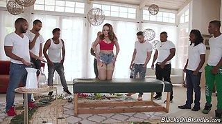 Carmen Valentina - BlacksOnBlondes