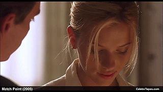 Scarlett Johansson erotic and sexy movie scenes