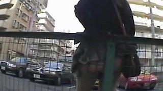 Nice and round hot asses voyeur outdoor upskirt video