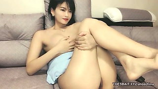Black tits – Chinese masturbation
