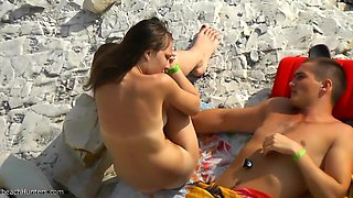 Fabulous Homemade movie with Nudism, Beach scenes