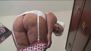 Mature Naughty Nurse Fucking Herself