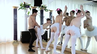 Chinese teen hard fuck Ballerinas
