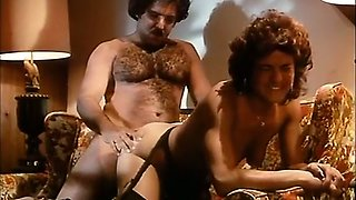 Hot lascivious classic European babe boned with a big cock