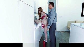 Mybabysittersclub - Babysitter Gets Hand Stuck In Sink