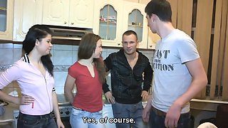 What do you do when you run into your girlfriend\'s ex in a