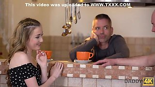 18 Years Old - Old Daddy Creampies Sons New Girlfriend