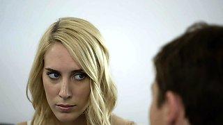 BLACKED Cadenca Lux Pays Off Boyfriends Debt By Fucking BBC