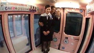 Hottest Japanese chick Reiko Asahina, Aoki Misora in Crazy MILFs JAV scene