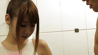 Best Japanese girl Hitomi Kitagawa in Fabulous Couple, Shower JAV scene