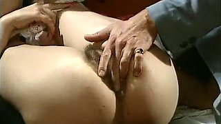 Juicy and hot pale skin babe fed with dick and rammed in the pussy