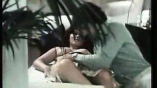 Retro slut getting banged in a classic German porn movie