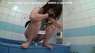 Fabulous Japanese whore in Crazy Pissing JAV clip