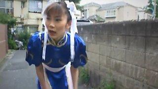 teen swallows big time asian segment 1