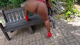 Dimpho-south african ass