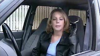 Incredible amateur Smoking, Brunette sex scene
