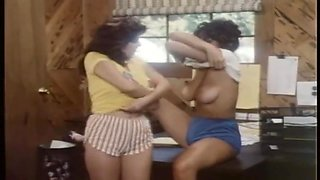 Big tits vintage lesbian get pussy licking