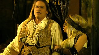 Abbey Brooks stars in pirate ship orgy