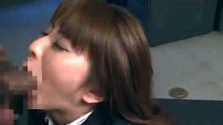 Fabulous Japanese girl in Horny Facial, Public JAV clip