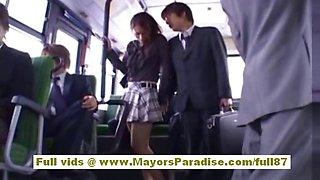 Maria Ozawa Chinese girl is fucking two guys on the beach