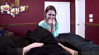 Sister Riley Reid Swapped Brother Pills and Fucked Him