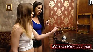Ebony rough sex threesome Two youthful sluts Sydney Cole and Olivia Lua our down south