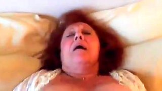 Real Hot Granny gets young Cock