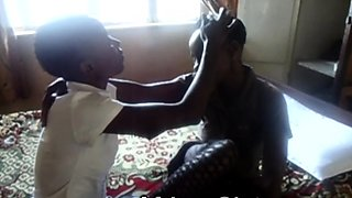 Sexy african lesbos in hard sex