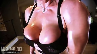goddess rapture full nude oiled up workout