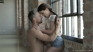 Cock loving gal Tiffany Doll knows that it's solely her job to get her man off