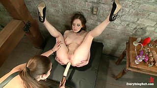 Amazing gaping, fetish sex scene with crazy pornstars Natalie Moore and Dani Daniels from Everythingbutt