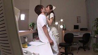 Exotic Japanese girl Nana Konishi in Amazing Cunnilingus JAV scene