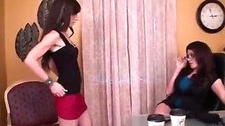 girl slave lick feet