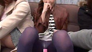 Amazing JAV Censored scene with Threesomes,Public scenes