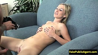 Euro casting babe fucked by midget agent