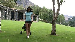 Melissa Mendiny (Lexa) IntheCrack 685 sexy ASS TEASE