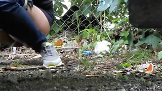 Compilation of girls secretly filmed pissing