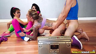 rina ellis, monica asis, karma rx in group action
