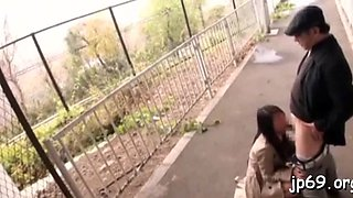public flashing before handjob asian movie 1